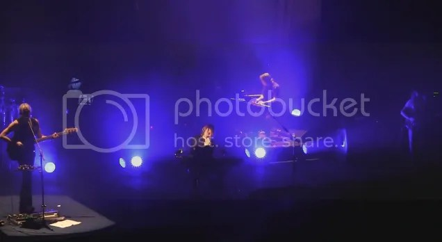 Steven Wilson on stage