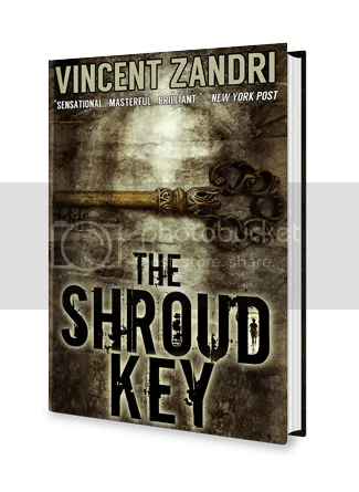 Reading Thrillers in my Arctic Desert Cabin – The Shroud Key by @VincentZandri
