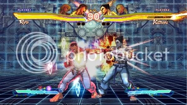 Street Fighter X Tekken Gem System
