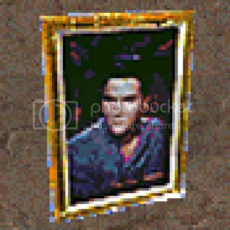 Elvis portrait.