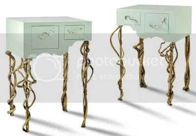 Laura Spector Rustic Designs Echo Table - I adore these tables and they are just so different
