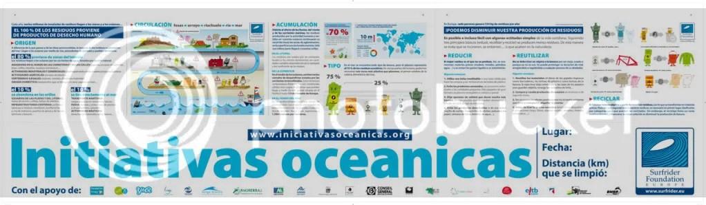 Banderola Iniciativas Oceanicas 2011