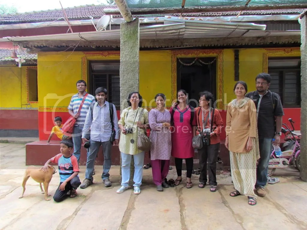 all of us at Vinutha'shomestay 130811