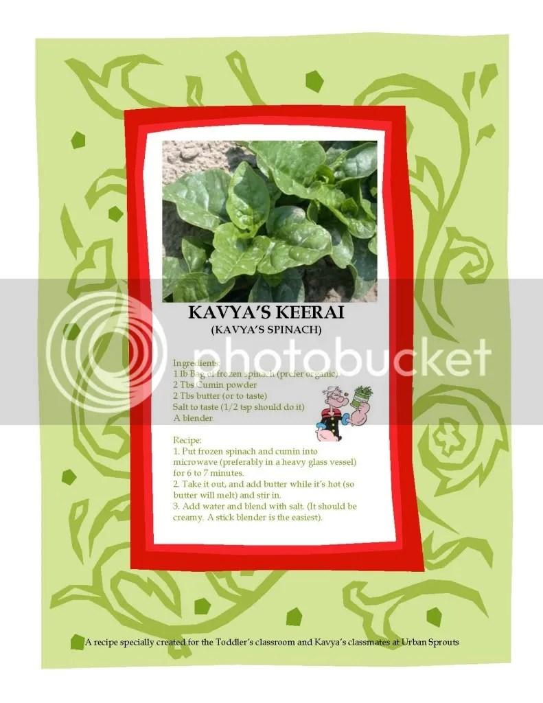 kavya's keerai recipe 180811
