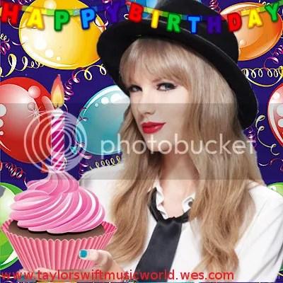 Happy Birthday from Taylor