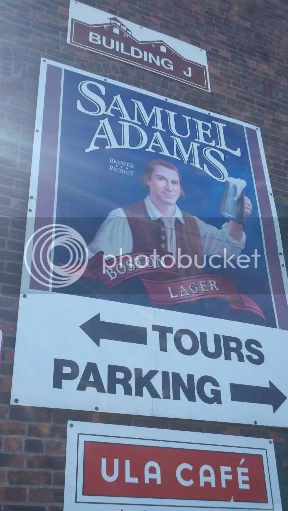 Sam Adams Tour Parking Lot