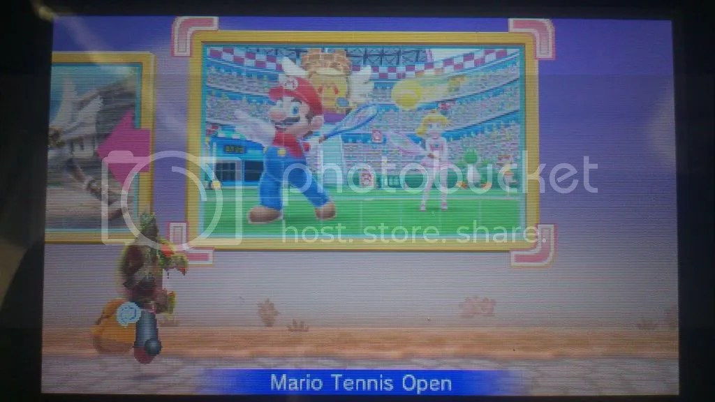 Fertiges Mario Tennis Open Puzzle
