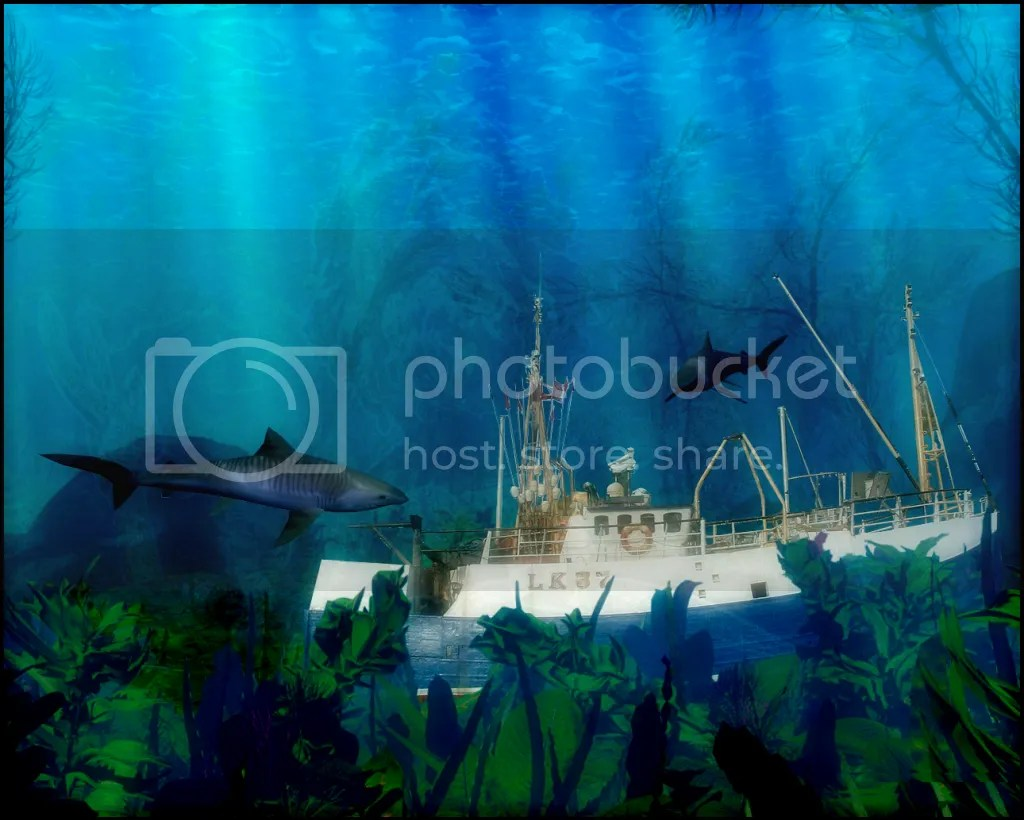 Rendering of an Underwater Scene