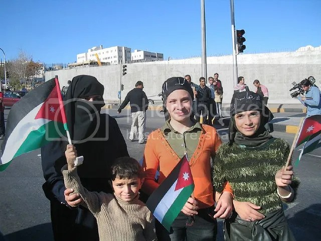 Jordanian Women Protest
