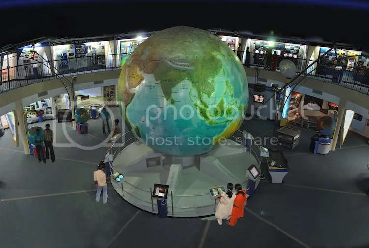 Earth Exploration Hall in Science City, Kolkata