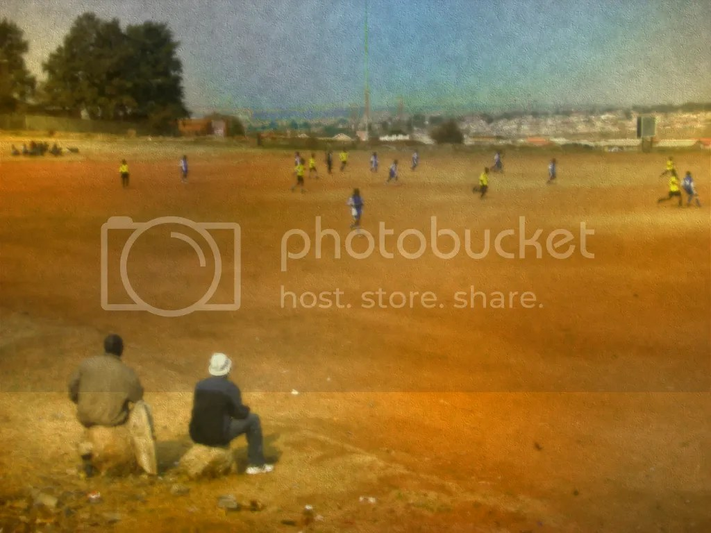 Soccer Match in South Africa