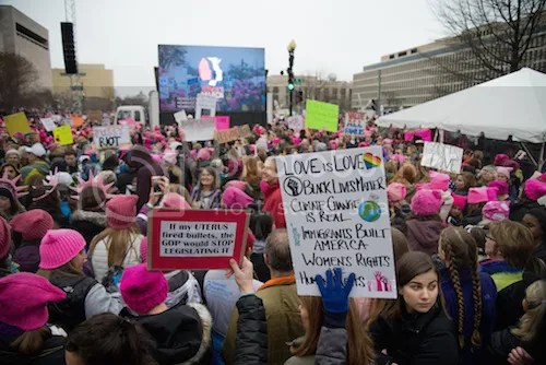 [THE PROMISE AND IMPERFECTION OF THE WOMENS MARCH]