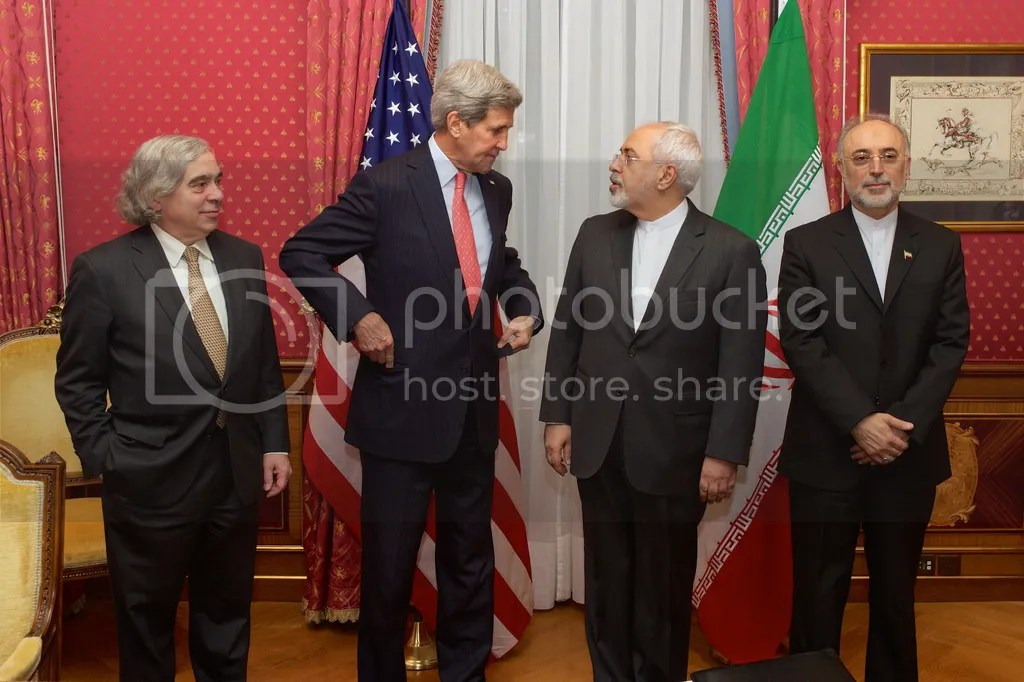 John Kerry meets with Iran's Vice President