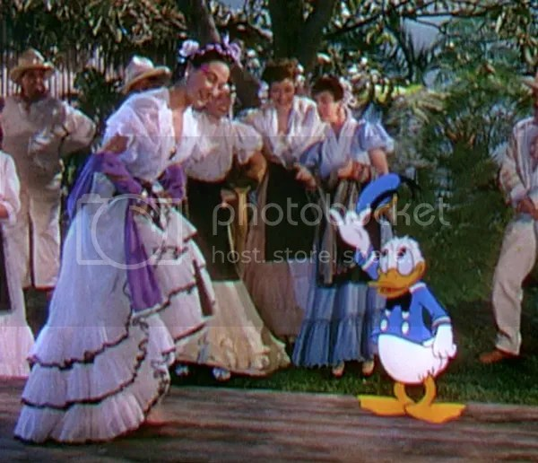 Donald Duck and The Three Caballeros