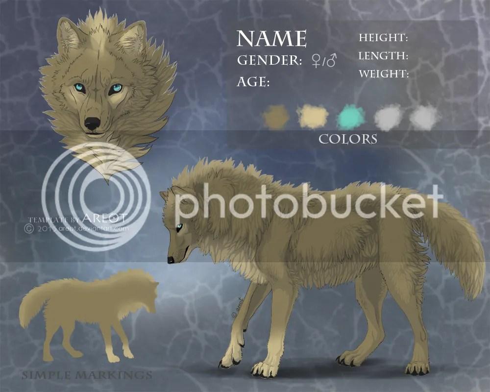 Feral Heart Fur Texture Wolf