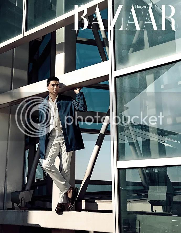Daniel Henney para Harper's Bazaar, febrero de 2016. 1