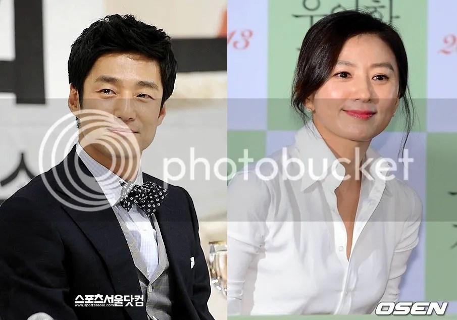 Ji Jin Hee y Kim Hee Ae