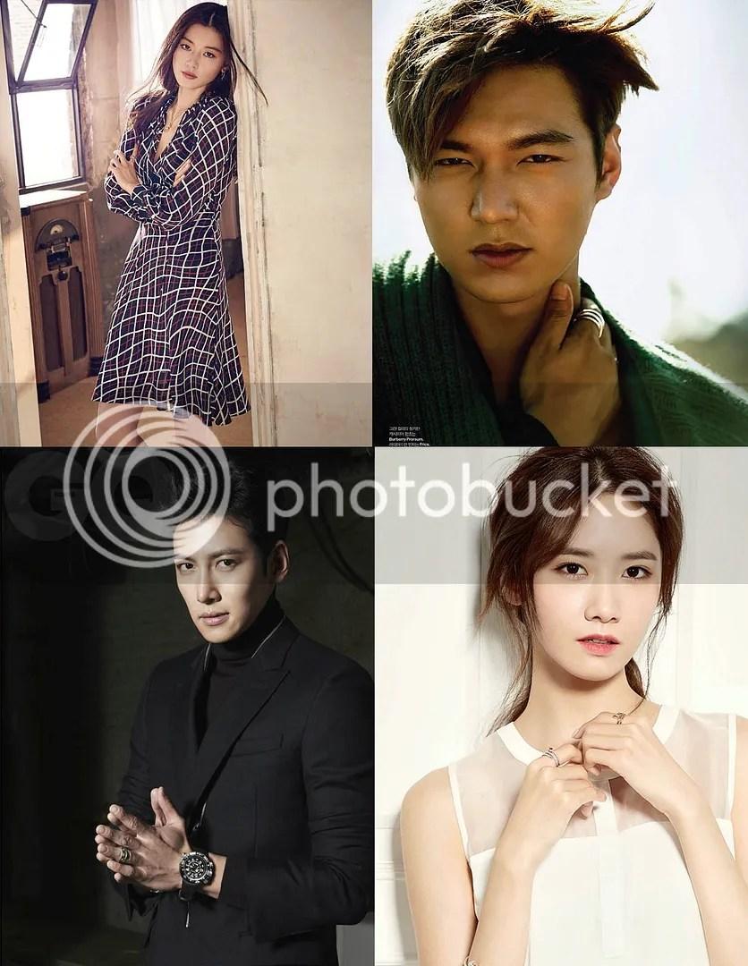 Jun Ji Hyun, Lee Min Ho, Ji Chang Wook y Yoona 1