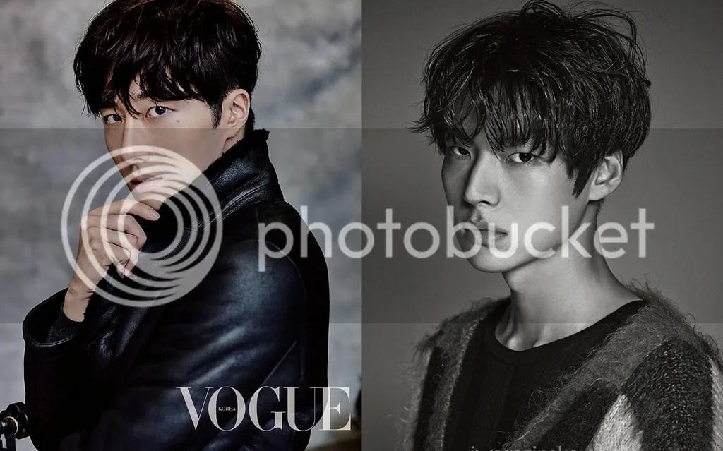 Jung Il Woo y Ahn Jae Hyun