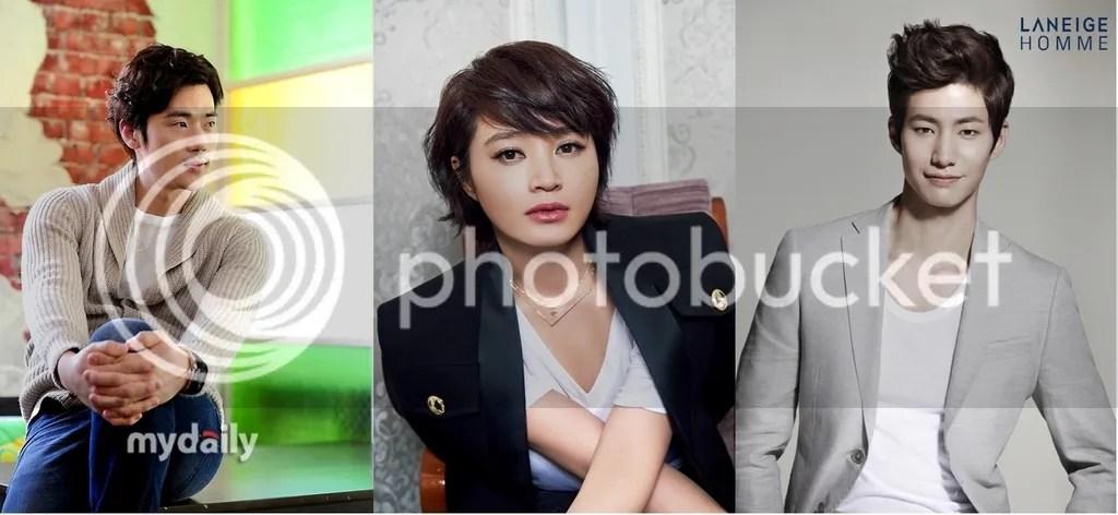 Kim Kang Woo, Kim Hye Soo y Song Jae Rim