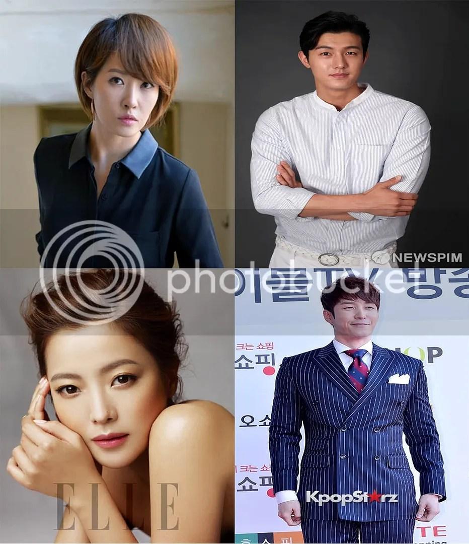 Kim Sun Ah, Lee Ki Woo, Kim Hee Sun y Shim Hyun Tak 1