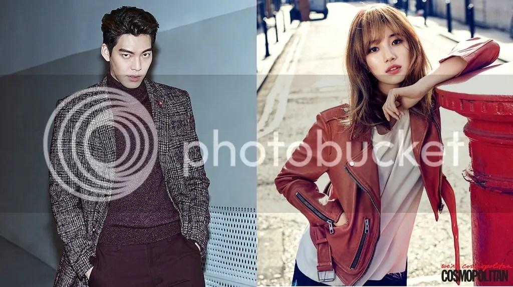Kim Woo Bin y Suzy (Bomba Soju)