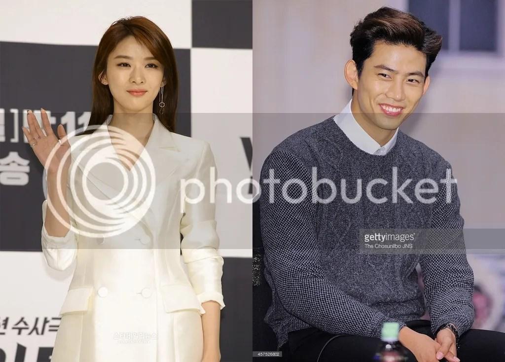 Lee Chung Ah y Taecyeon 1