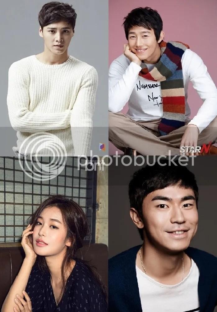 Lee Tae Hwan, Kang Ki Young, Jung Yoo Jin y Lee Shi Un