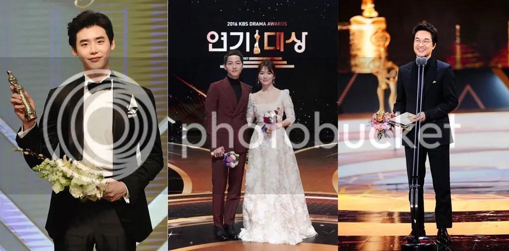 Ganadores de los premios de los dramas 2016