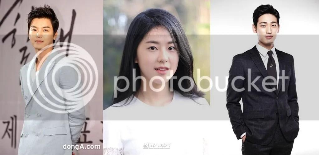 Yeon Woo Jin, Park Hye Soo y Yoon Park 1