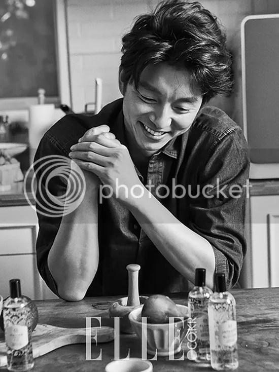 Gong Yoo 3. Elle Corea, octubre 2015