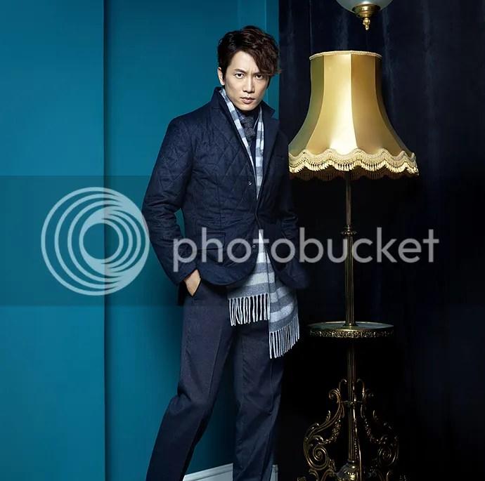 Ji Sung para Austin Reed, otoño-invierno 2015 (5) Bomba Soju