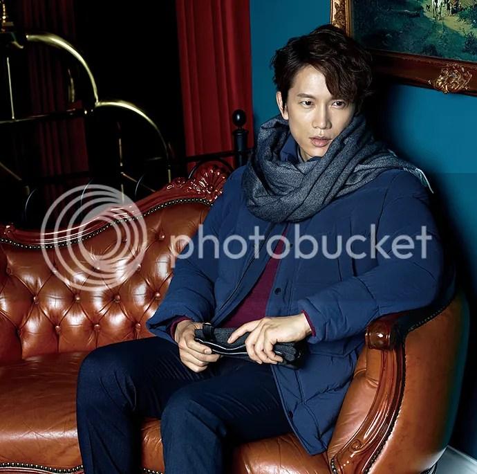 Ji Sung para Austin Reed, otoño-invierno 2015 (7) Bomba Soju
