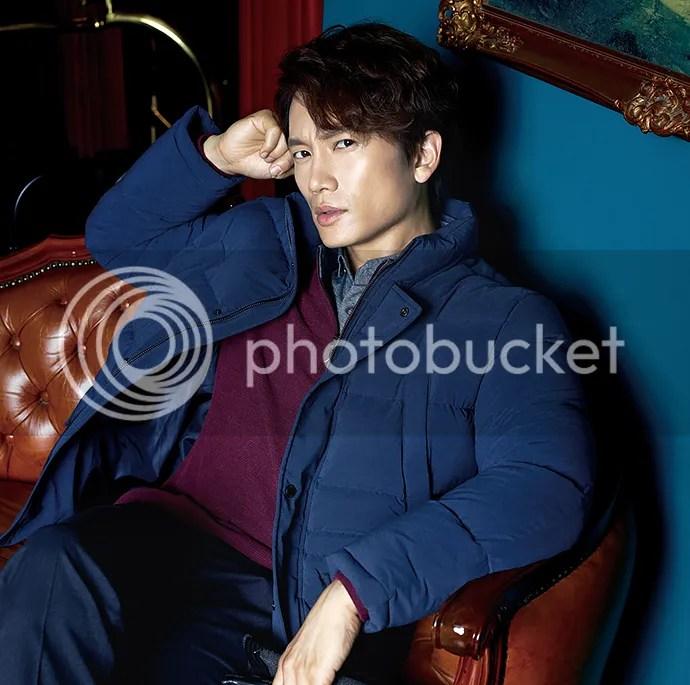 Ji Sung para Austin Reed, otoño-invierno 2015 (8) Bomba Soju