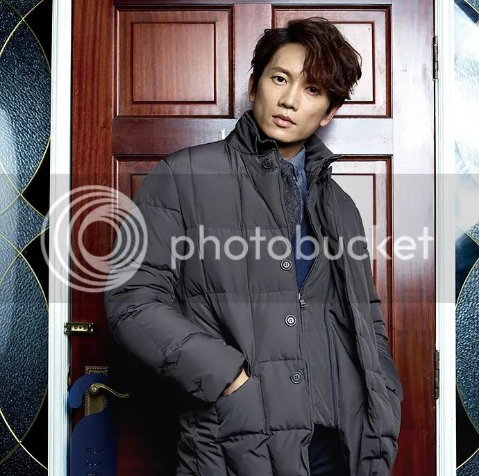 Ji Sung para Austin Reed, otoño-invierno 2015 (9) Bomba Soju