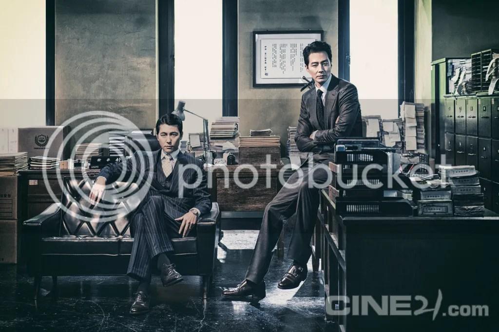Jung Woo Sung y Jo In Sung para Cine21. 1