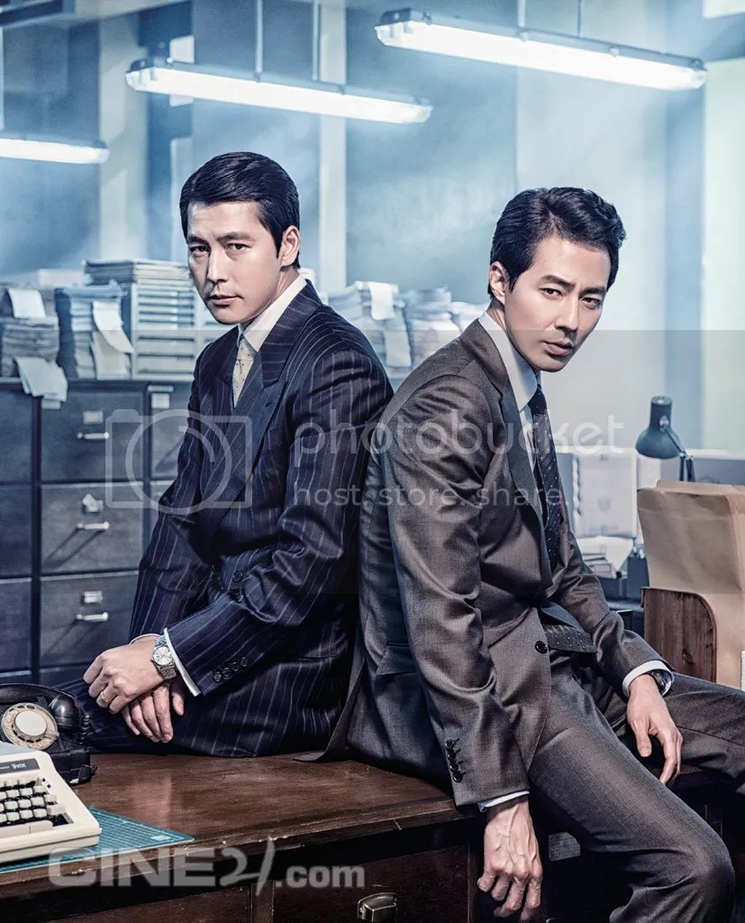Jung Woo Sung y Jo In Sung para Cine21. 4