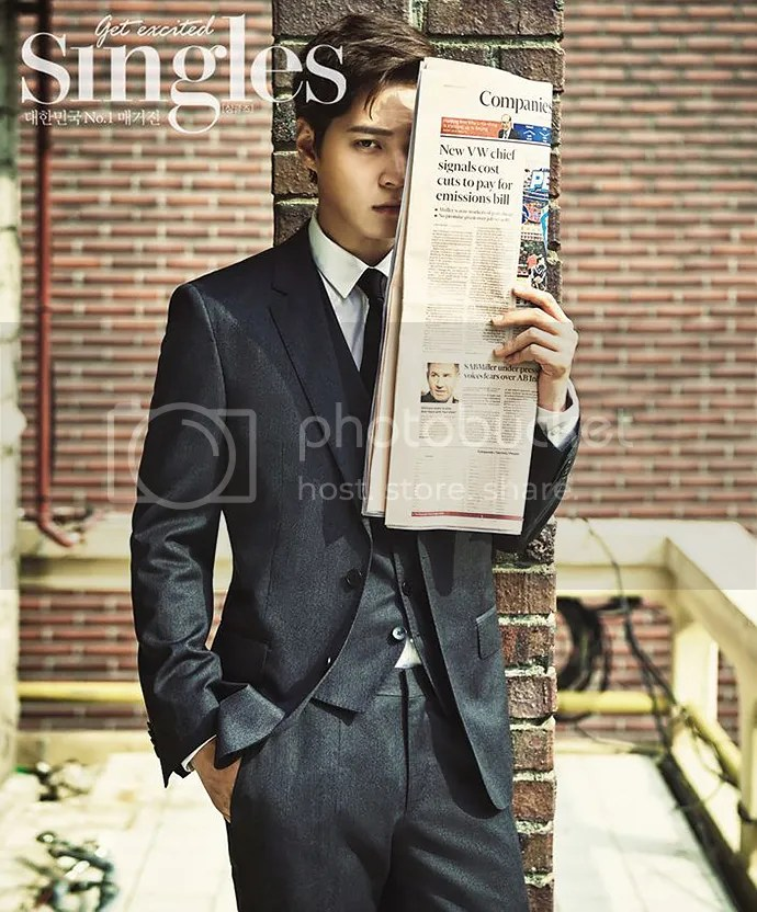 Joo Won para Singles Corea, noviembre de 2015. 4