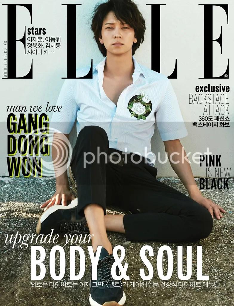 Kang Dong Won para Elle Corea, mayo del 2016. 4