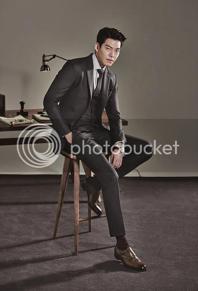 Kim Woo Bin 24 para SIEG, otoño/invierno 2015-2016