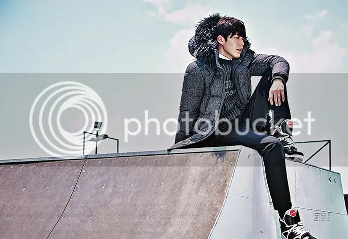 Kim Woo Bin 5, para SIEG, otoño/invierno 2015-2016