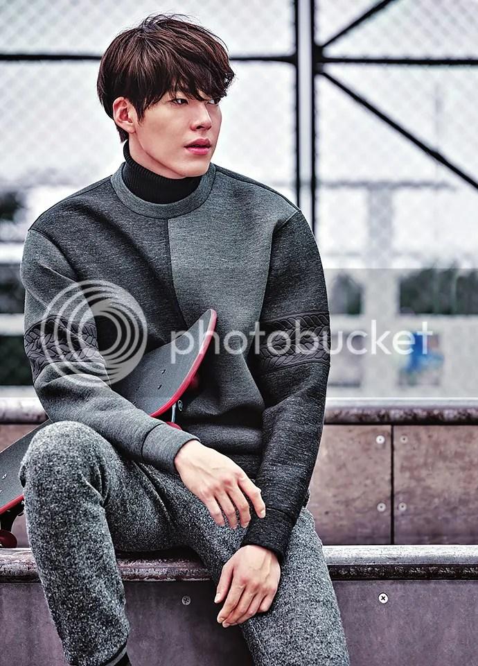 Kim Woo Bin 6 para SIEG, otoño/invierno 2015-2016