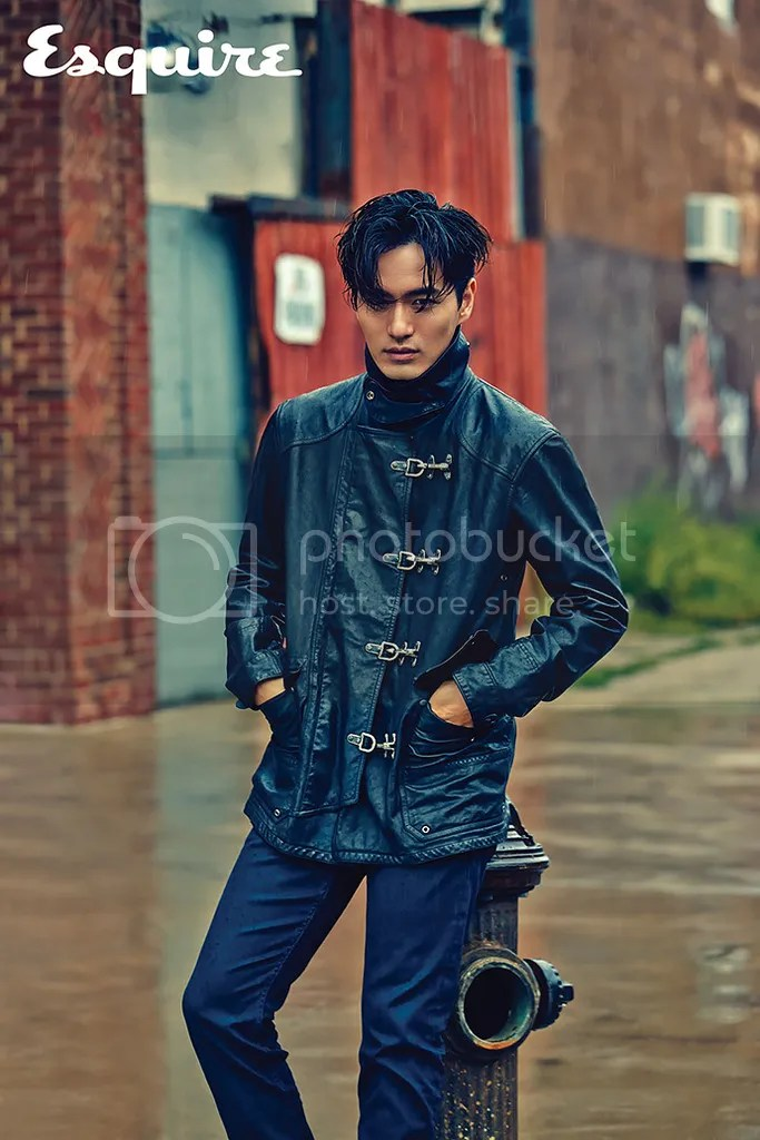 Lee Jin Wook para Esquire. 2
