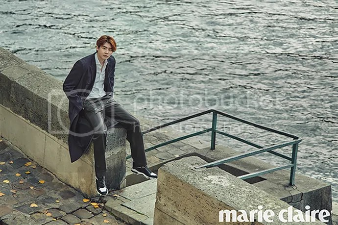 Lee Jong Suk para Marie Claire Corea, noviembre del 2015. 10