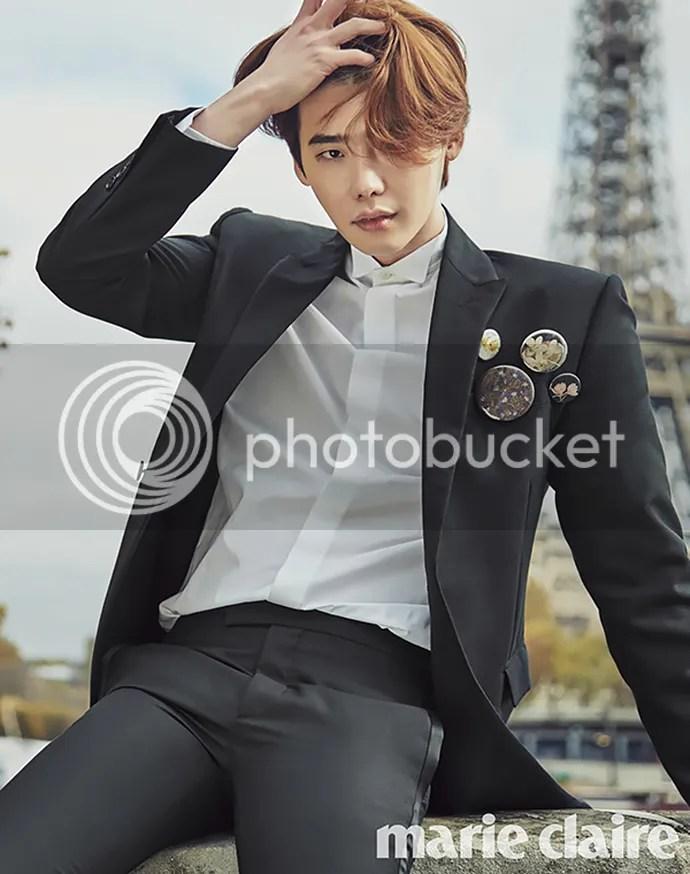 Lee Jong Suk para Marie Claire Corea, noviembre del 2015. 4