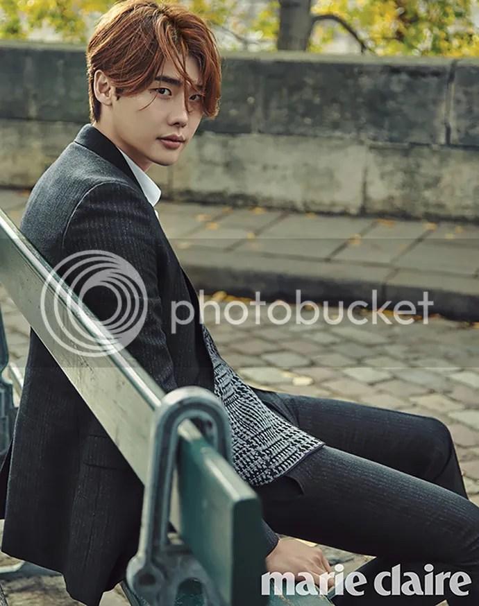 Lee Jong Suk para Marie Claire Corea, noviembre del 2015. 5