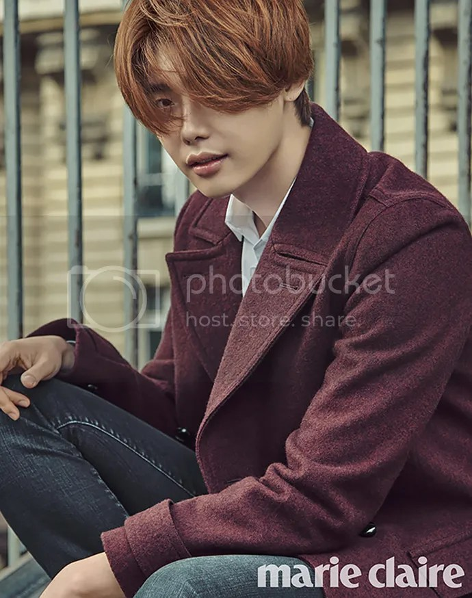 Lee Jong Suk para Marie Claire Corea, noviembre del 2015. 9