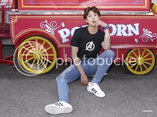 Park Bo Gum para Edwin magazine. 1