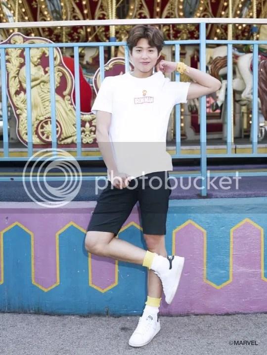 Park Bo Gum para Edwin magazine. 3