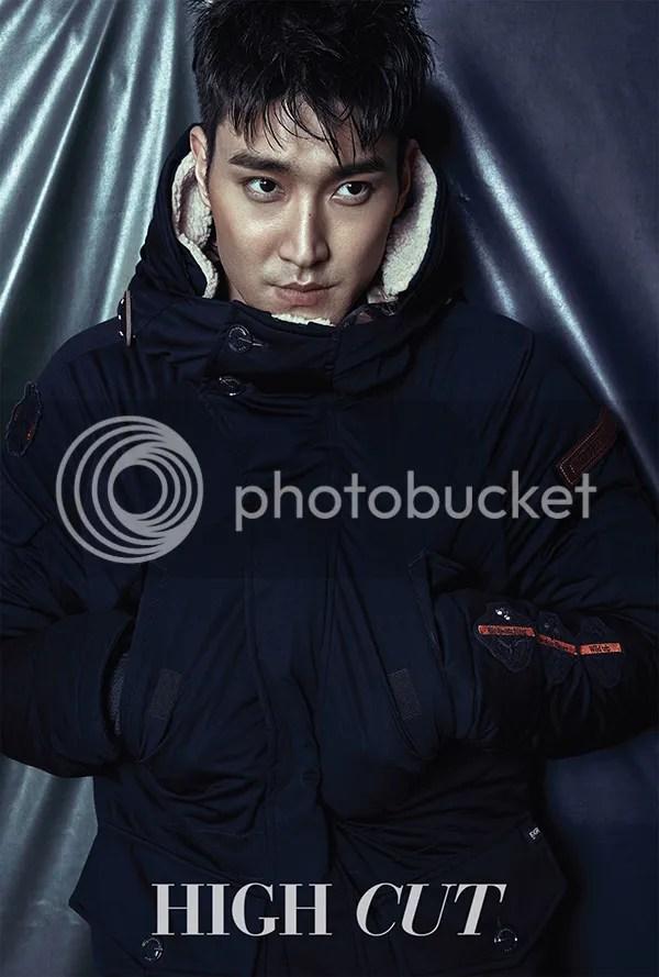 Siwon para High Cut, noviembre del 2015. 3